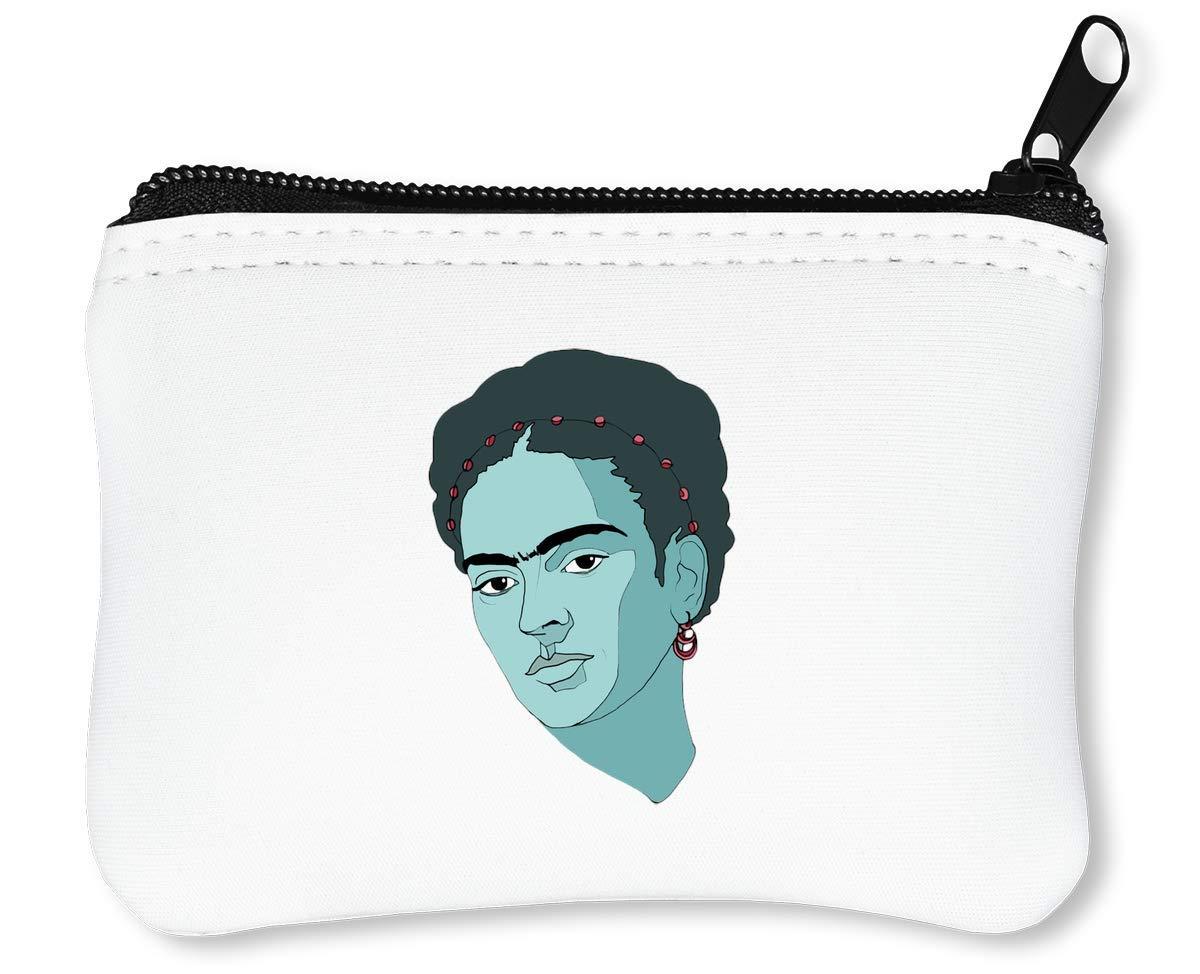 Frida Kahlo Woman Billetera con Cremallera Monedero Caratera: Amazon.es: Equipaje