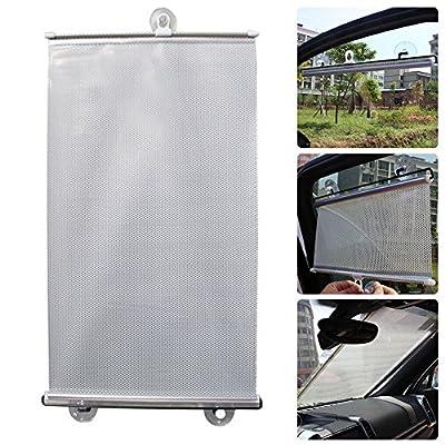 AMAZZANG-Retractable Car Auto Block Windshield Rear Window Mesh Curtain Sun Shade Visors