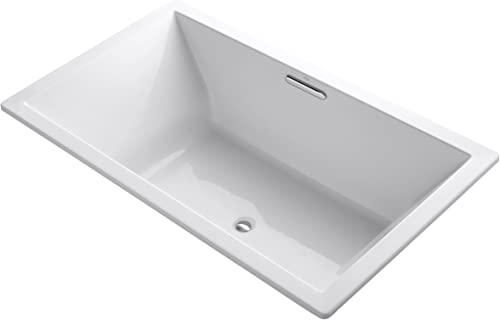 KOHLER 1137-0 Underscore Rectangle Bathtub, White