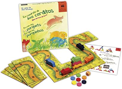 Devir-LA CUADRILLA DE LOS CERDITOS, Miscelanea (221442): Amazon.es: Juguetes y juegos