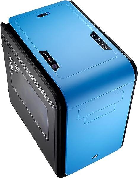 Aerocool Dead Silence Cube Window Edition - Caja de Ordenador (Cubo, PC, 1x 200 mm, SGCC, 1x 120 mm, Micro-ATX, Mini-ITX): Amazon.es: Informática