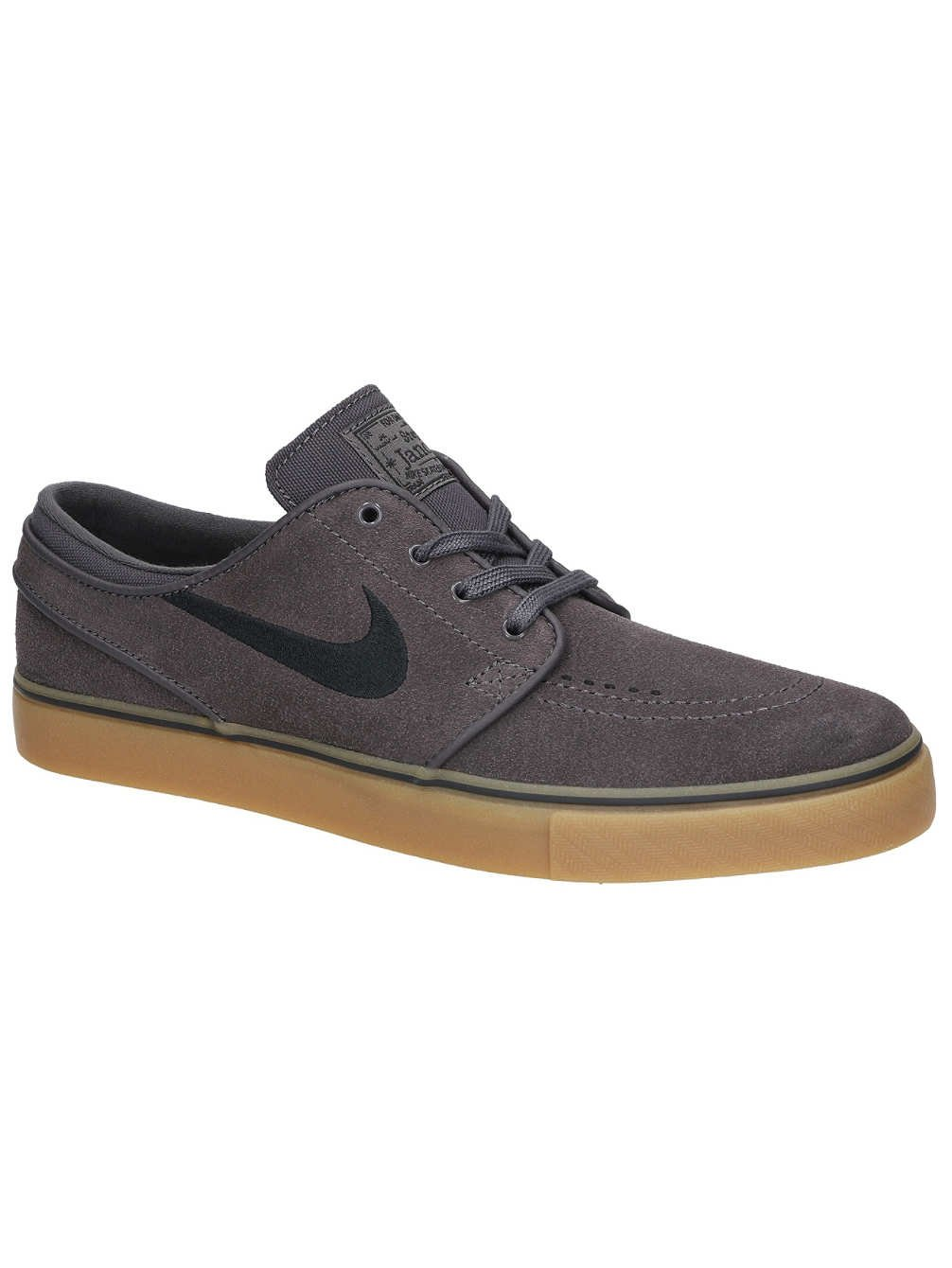 separation shoes 4faba 680ef Galleon - NIKE Men s Stefan Janoski Canvas Skate Shoe (10.5 D(M) US,  Thunder Grey Black)