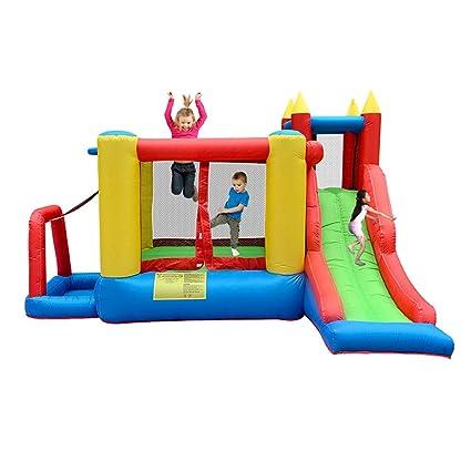 Castillos hinchables Juegos De Niños En Casa Juguete De Cama ...