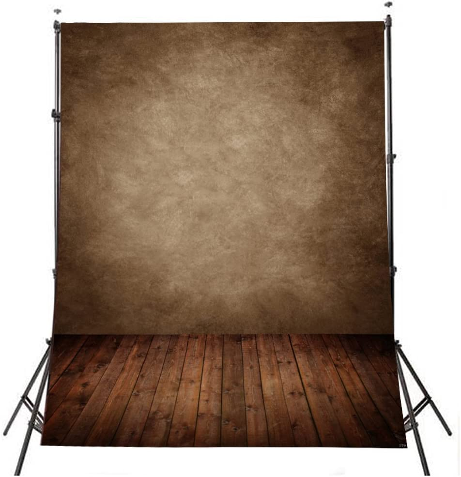 STLY 5x7ft Photography Backdrops Seamless Brown Abstract Photo Studio Backdrop