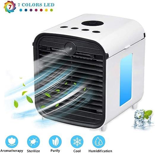 HYANF Ventilador De Aire Acondicionado PortáTil, Refrigerador De ...