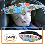 2 Pack Toddler Car Seat Neck Relief and Head Support, Easy Installation On Most Convertible Seats, Offers Protection and Safety for Kids