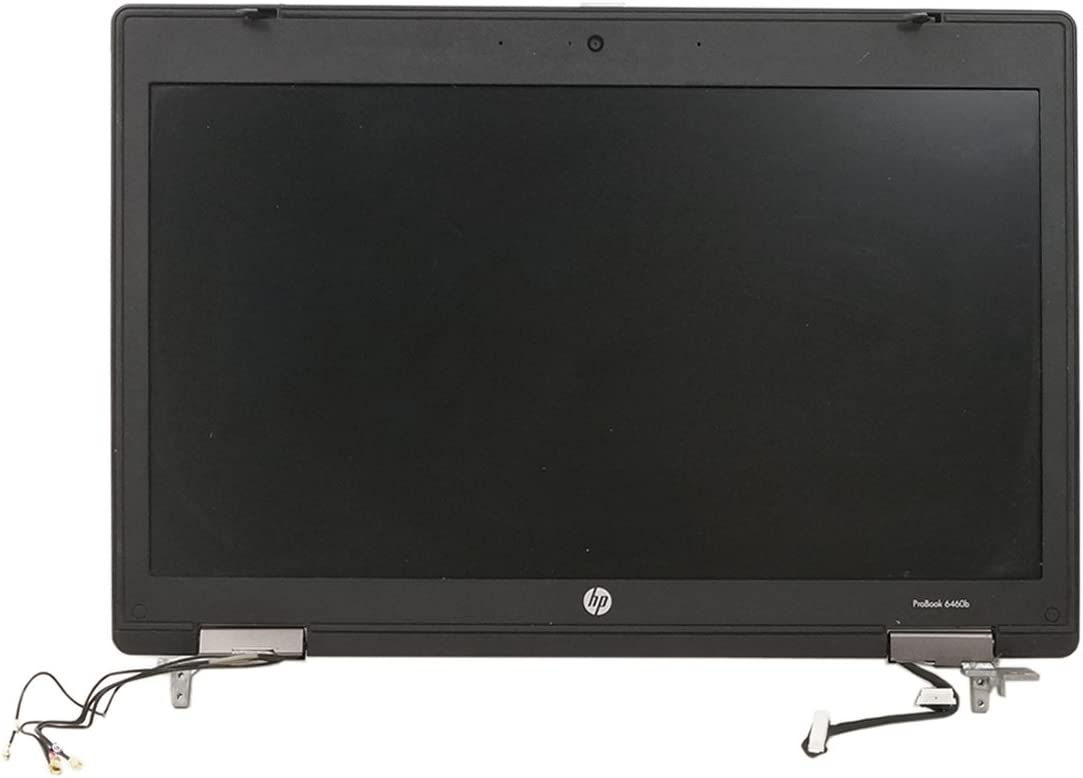 Original/OEM Complete LCD/Screen Assembly for HP Probook 6470b 6475b 6460b 6465b with Antennas, Webcam, Hinges, Front and Back bezels/covers 684347-001 678972-001
