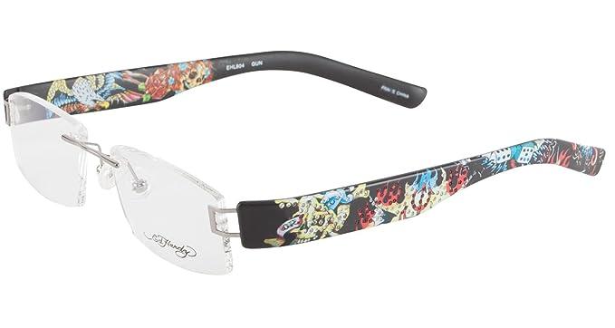 Amazon.com: Ed Hardy EHL-804 Lite Designer Eyeglasses -: Clothing
