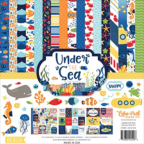 Echo Park Paper Company Under The Under The Sea Collection Kit ()