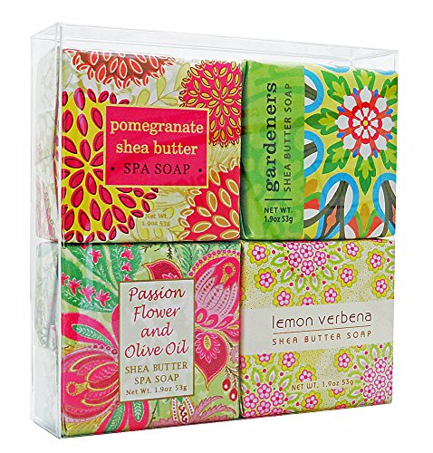 Gift Boxed Milk Bath (In Bloom Soap Sampler - Boxed Set of 4 Assorted)