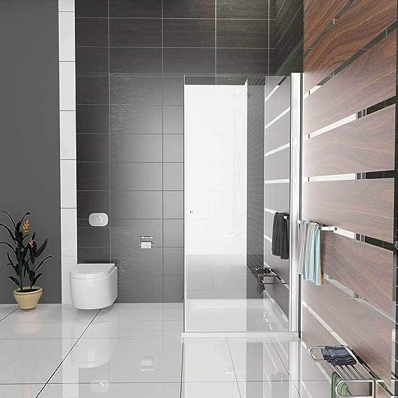 ducha completa con cristal antical aut/éntico mampara con cristal templado Cabina de ducha cuadrada sin marco de Kage 90 x 90 x 195 cm ESG puerta corredera incluye cristal de decoraci/ón