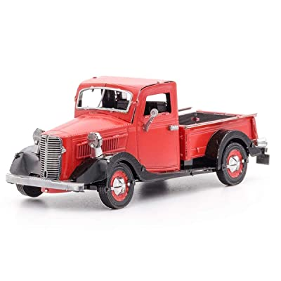 Fascinations Metal Earth 1937 Ford Pickup 3D Metal Model Kit: Toys & Games