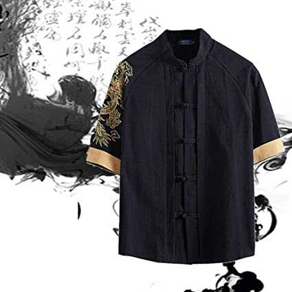 YOUTH BURST Ropa De Tai Chi Ropa China Traje Tang Camiseta De ...