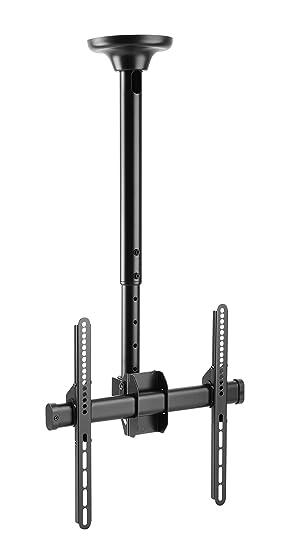 Ricoo Support Tv Plafond Orientable Inclinable D0244 Téléviseur