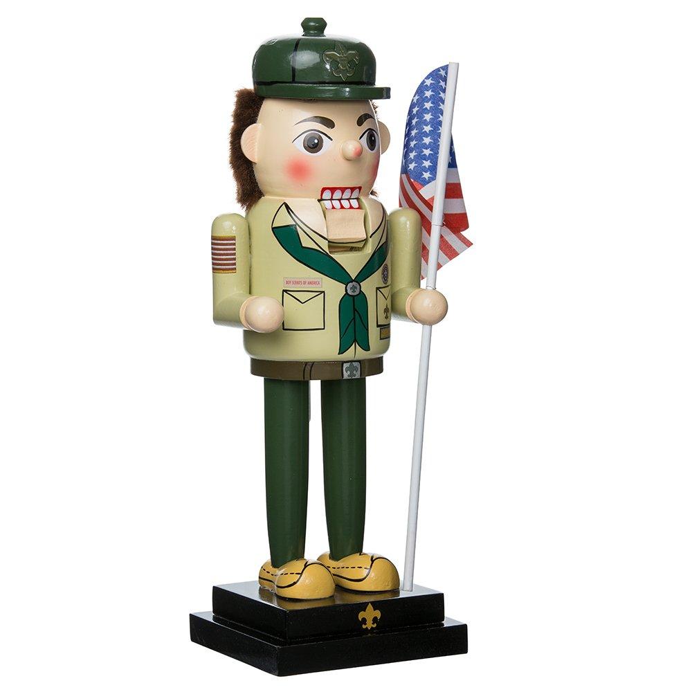 Kurt Adler 12.5'' Wooden Boy Scout Nutcracker