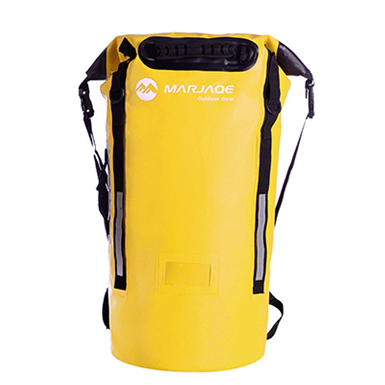 NeeKer Boating-Dry-Bags 40L Outdoor River Trekking Bag Dry Bag Double Shoulder Straps Water Pack Swimming Backpack Waterproof Bags Drifting Kayaking 2