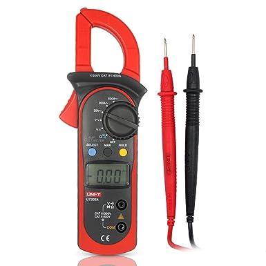 UNI-T UT202A Mini Digital Clamp Meter Multímetros DC Clamp Multímetro Pinza Voltímetro Amperímetro Digital