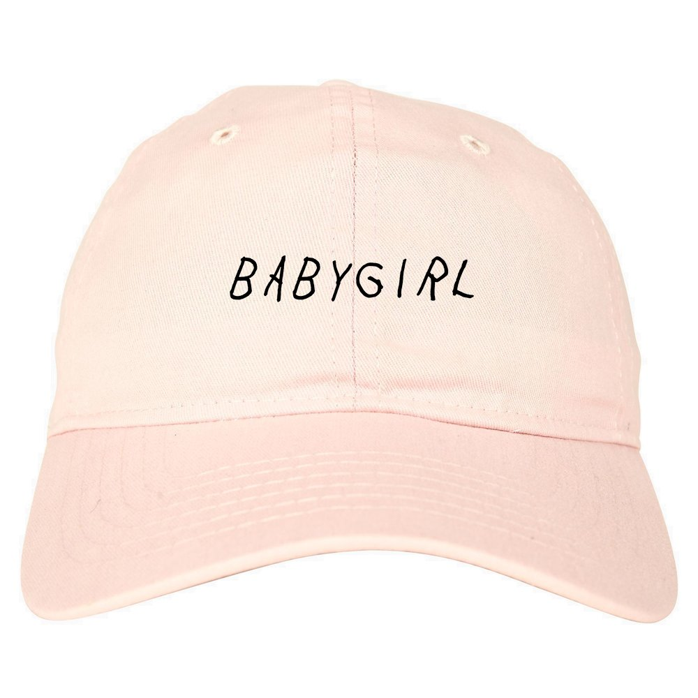 97965630744 Babygirl Dad Hat 6 Panel Baseball Cap Beige at Amazon Men s Clothing store