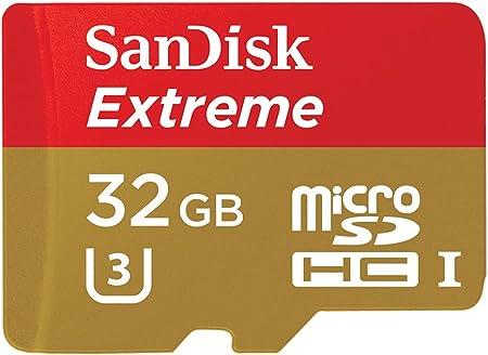 Sandisk Extreme 32gb Microsdhc Uhs I Class 10 U3 Computer Zubehör