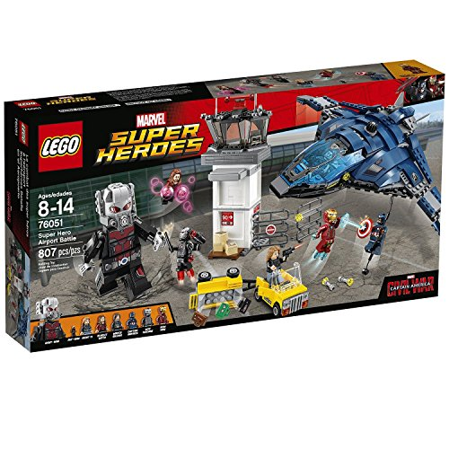 807 Pieces, Super Hero Airport Battle Building Set