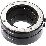 Ruili Autofokus Makro Zwischenringe Extension Tube Set (10mm, 16mm) DG für Fujifilm FX X-H1 X-E3 X-T10 X-T1 X-T2 X-T20 X-Pro1 X-Pro2 X-M1 X-A1 X-A2 X-A3 X-A5 X-A10 X-A20 X-E1 X-E2 X-E2S