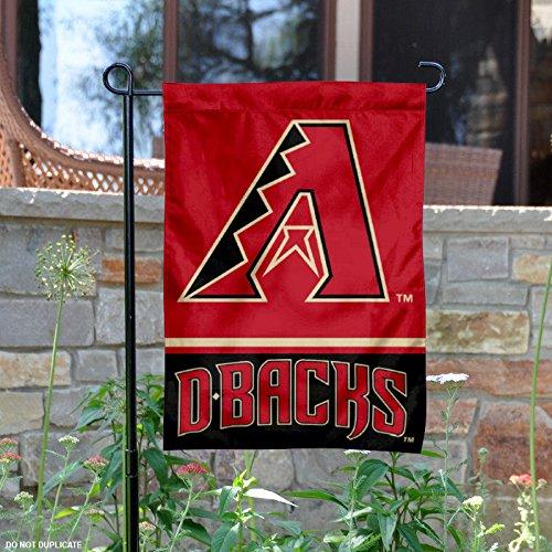 Arizona Diamondbacks Banner - Arizona Diamondbacks Double Sided Garden Flag