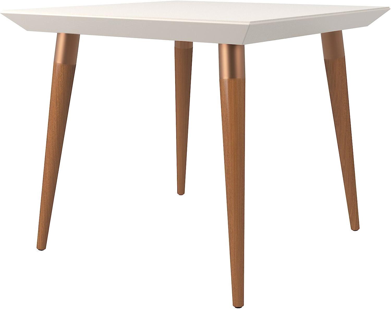 Manhattan Comfort Utopia Dining Table, Off-White