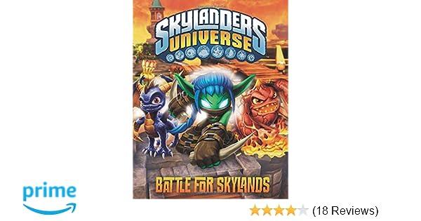 Battle For Skylands Skylanders Universe Grosset Dunlap