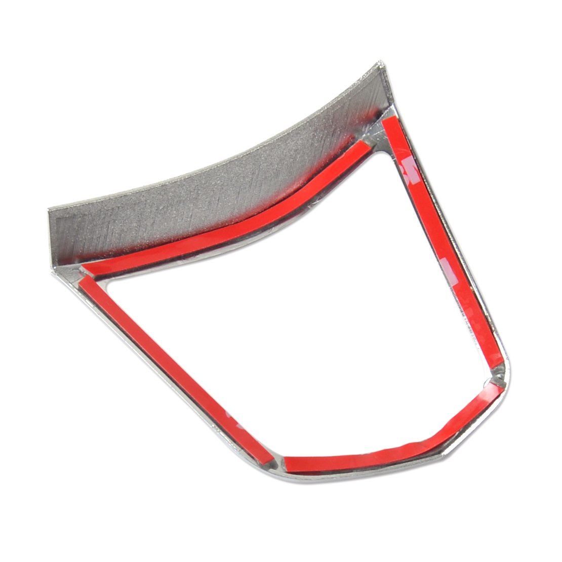 beler Car Chrome Steering Wheel Switch Decoration Cover Trim