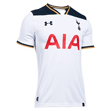 ac9615f49 Under Armour Tottenham Hotspur FC Replica Home 2016 17 Jersey  White  (L
