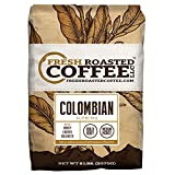 100% Colombian Supremo Coffee, Whole Bean, Fresh Roasted Coffee LLC (5 lb.) For Sale