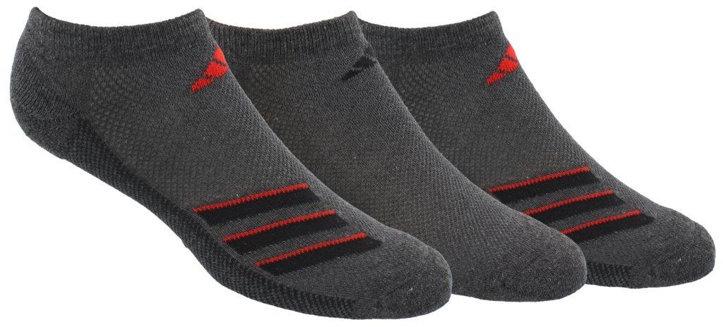 adidas Men's Climacool Superlite No Show Socks (3-Pack)