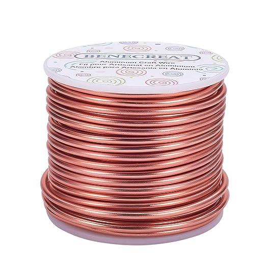 Innovo Arandelas de cobre de 7 mm de di/ámetro interior x 10 mm de di/ámetro exterior x 1 mm de grosor