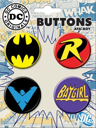 Ata Boy Comics Originals Collectible Buttons