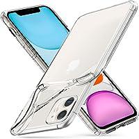 Spigen Coque iPhone 11 [Liquid Crystal] Ultra Mince, Légère, Ajustement Parfait, Protection aux 4 Coins - [Air Cushion] Coque Compatible avec iPhone 11 (2019) - Transparente