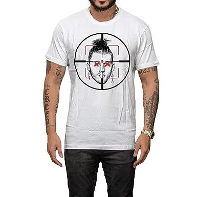 efe4d748fd421 Kardiance Eminem MGK KILLSHOT T-Shirt White: Amazon.co.uk: Clothing