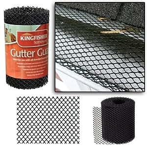 Amazon Com Kingfisher Heavy Duty 10ft Roll Gutter Guard