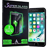 "Double-Strength iPhone 8 7 6S 6 Screen Protector Tempered Glass [2-Pack] 4.7""-Inch Shatter Resistant"