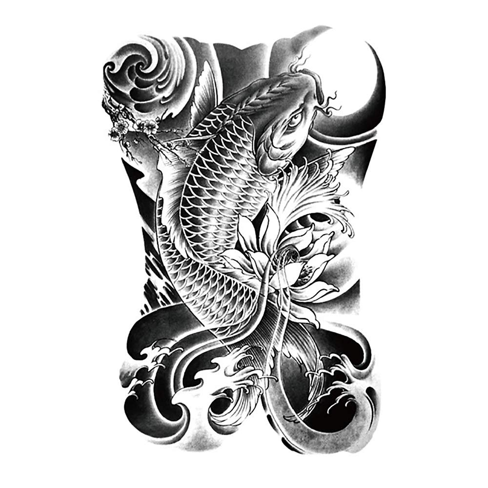 Tatuaje temporal del brazo de la flor de la moda de los hombres ...