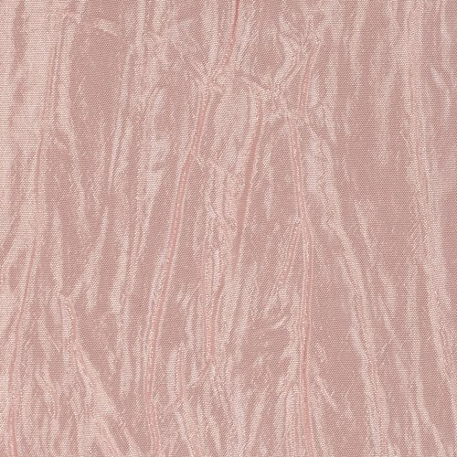 Ben Textiles Crushed Taffeta Iridescent Blush Pink Fabric by The Yard,