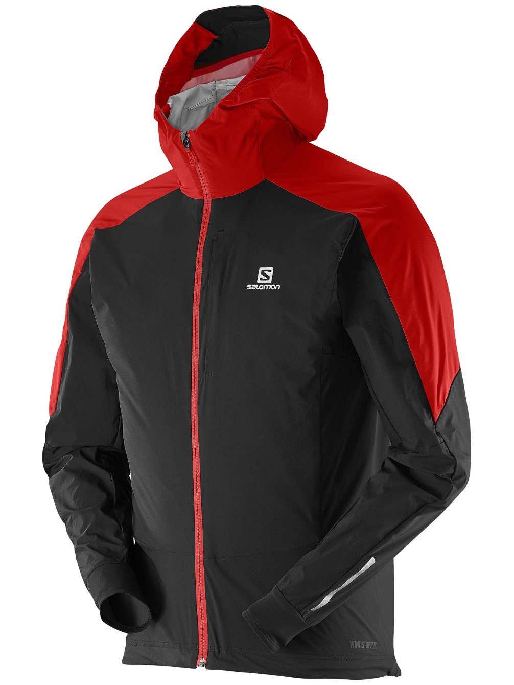 34deec44483 Salomon Men's Equipe WS Jacket Matador-X / Black XL: Amazon.ca: Sports &  Outdoors