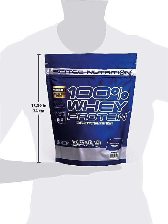 Scitec Nutrition 100% Whey Protein Chocolate 1000 g: Amazon ...