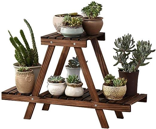 chishizhenxiang Plant Stand Potholder Stand para jardín Interior y Exterior Living Room Bonsai Decoración Stand, 75 Veces; 26times; 46cm: Amazon.es: Hogar