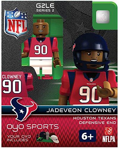 NFL Houston Texans Jadeveon Clowney Gen 2 Mini Figure, Small