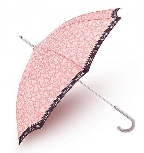 Paraguas Tous modelo Kaos color rosa