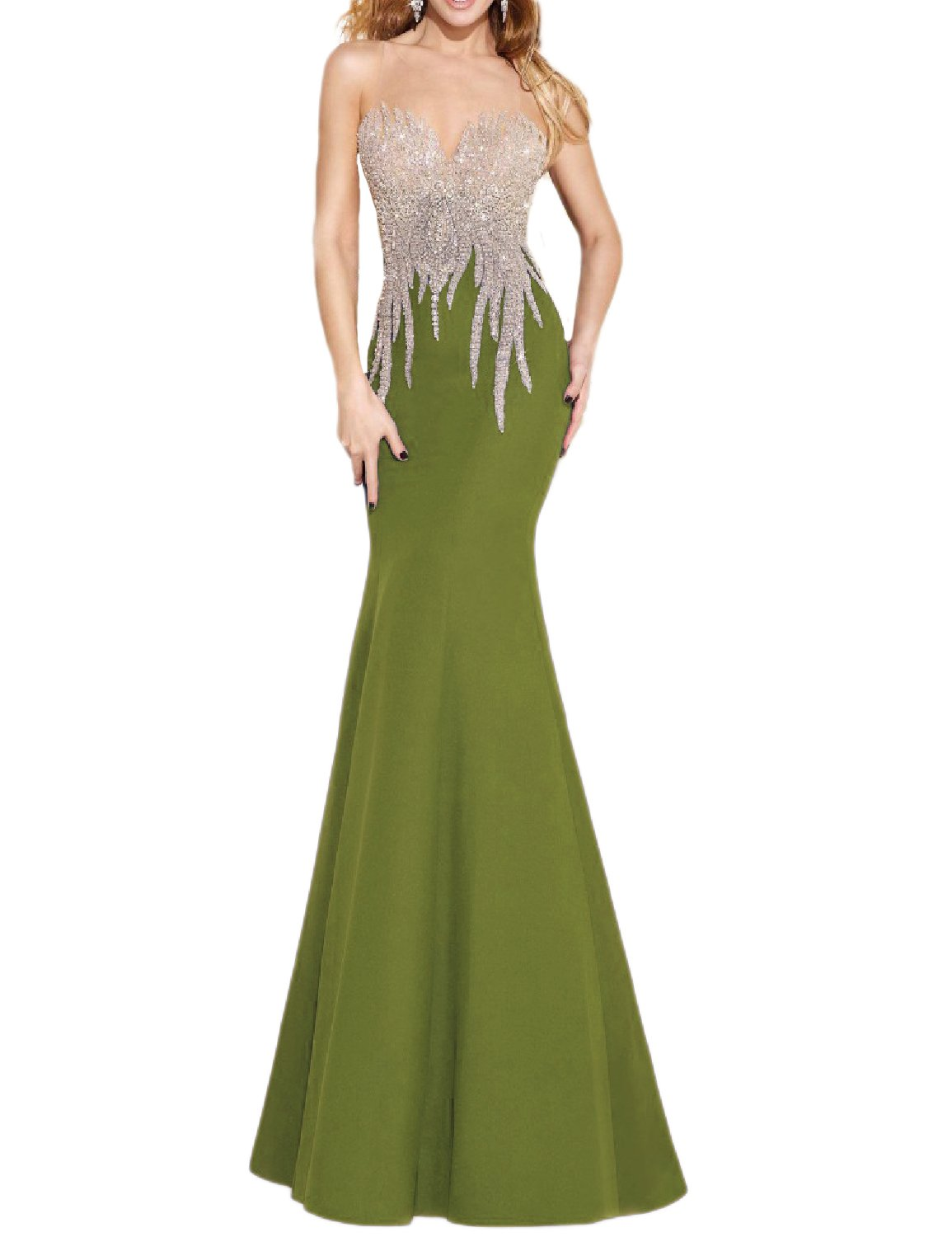 Olive Green Dresses for Weddings: Amazon.com