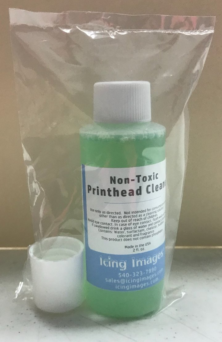 Non Toxic Printhead Cleaner for Edible printers