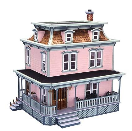 Amazon Com Greenleaf Dollhouses Lily Dollhouse Kit Toys Games