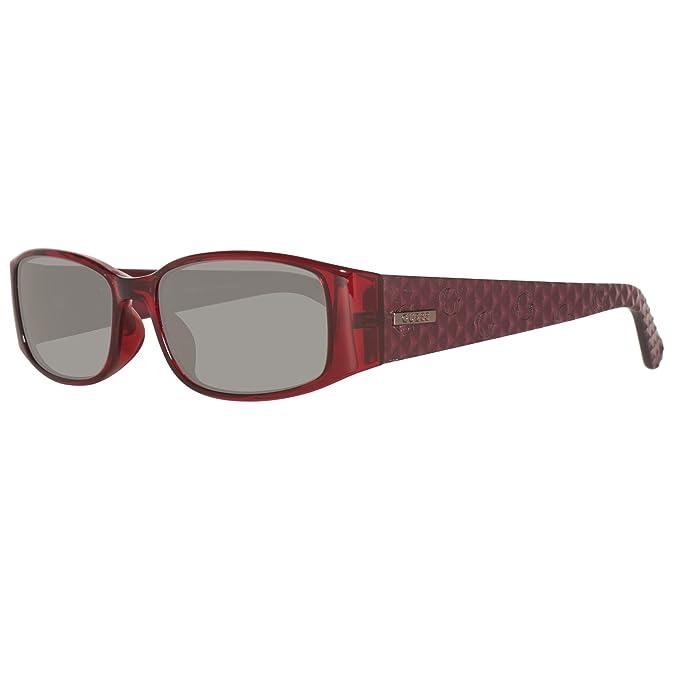 Guess Gu7259-55f63 Gafas de Sol, Rojo (Red), 55 para Mujer ...