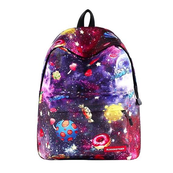 GiveKoiu-Bags - Mochila para niñas, para la Escuela, Barata, para niños, niñas, Estampado, al Aire Libre, Libro, Escuela, Bolsa de Viaje, Mujer, 2019920, D, ...